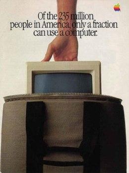 Самая интересная реклама Эппл за последние 35 лет.
