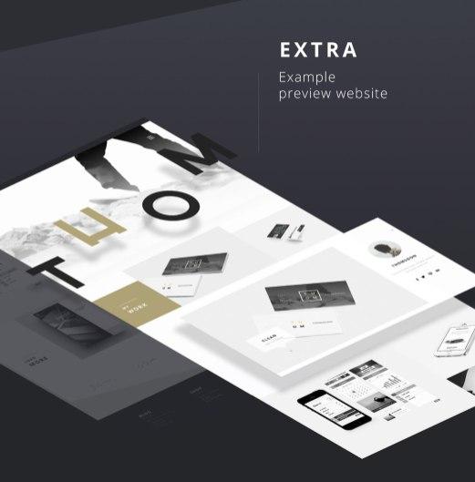 Бесплатный UI kit из 55+ элементов (PSD)