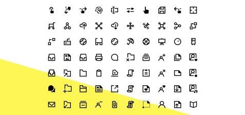 1800 бесплатных иконок в разных форматах