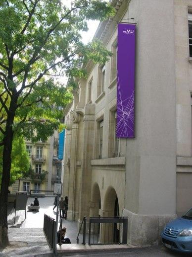 Фирстиль Музыкального университета Лозанны