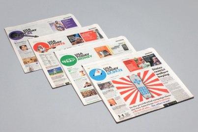 Новый бренд UsaToday — крупнейшей американской газеты.