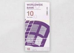 Банкноты брендов Эппл, Фейсбук, Майкрософт, Гугл и Макдональдс