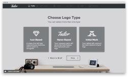 Tailor Brands: автоматизация брендинга