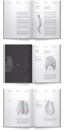 Киевлянка Ирэн Шкаровска сделала отличный концепт дизайна книги по остеологии (науки про кости).