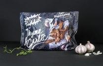 Упаковка для бренда вегетарианских закусок Oumph!