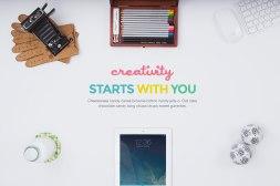 12 бесплатных мокапов на тему творчества