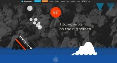 10 сайтов с иллюстрациями в плоской стилистике. Ссылки в описаниях картинок.