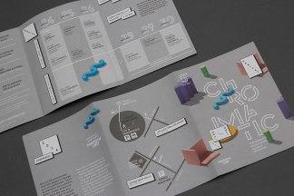 Фирменный стиль и печатная продукция арт-фестиваля Хроматик