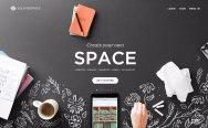 Новый сайт Squarespace