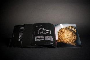 L I F T O F F — студенческий проект фирменного стиля для выставки о космических путешествиях.