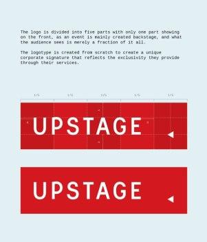 Фирменный стиль компании Upstage AS