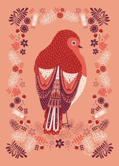 Poppy & red