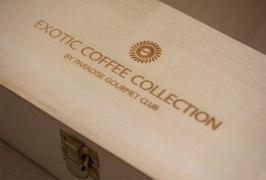 Упаковка для премиальной серии кофе «Exotic Coffee Collection»