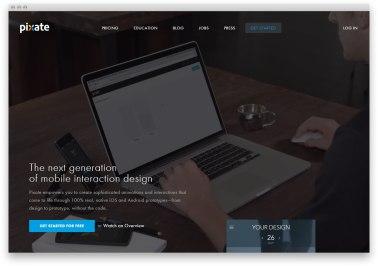 5 свежих промо-сайтов с отличным дизайном