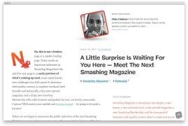 Smashing Magazine выкатили тотальный редизайн
