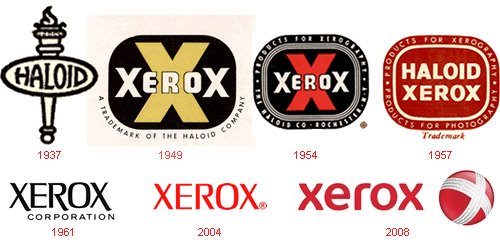 История логотипов известных компаний