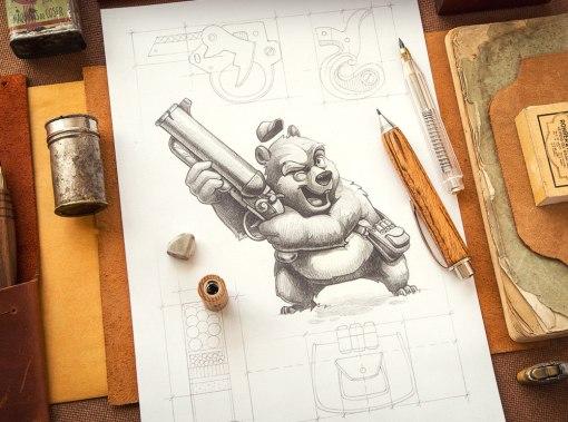 Новые персонажи иллюстратора и дизайнера Майка aka Creative Mints