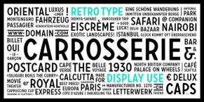 10 современных шрифтов, созданных швейцарскими дизайнерами.
