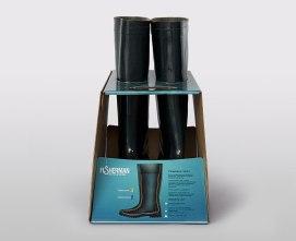 Упаковка для резиновых сапог «Fisherman». Агентство GOOD.