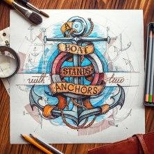 Рукотворные леттеринг и иллюстрации студии Inkration