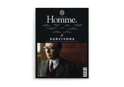 Обложки и верстка мужского журнала Омм