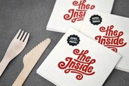 Фирменный стиль ресторана быстрого питания The Inside (Внутри)
