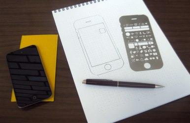 Трафарет проектировщика мобильных приложений