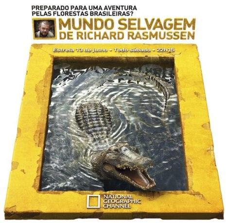 Реклама передачи на National Geographic