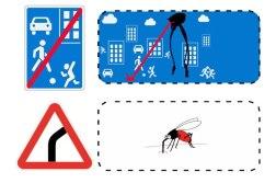 Переосмысление дорожных знаков © Matsky