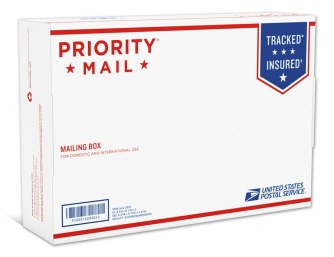 Новая упаковка USPS Priority Mail