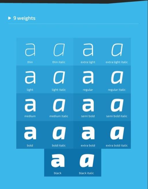 Бесплатный шрифт Exo 2.0