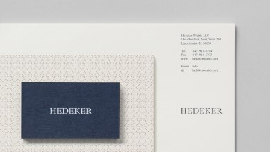 Фирменный стиль юридической компании Hedeker