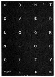 10 отличных плакатов с фокусом на типографике