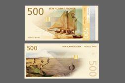 Новый новый дизайн норвежских крон