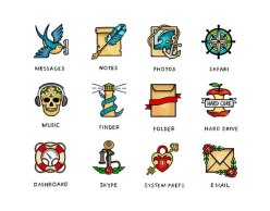 Рукотворные иконки