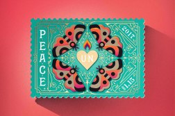 United Nations International Peace Stamps