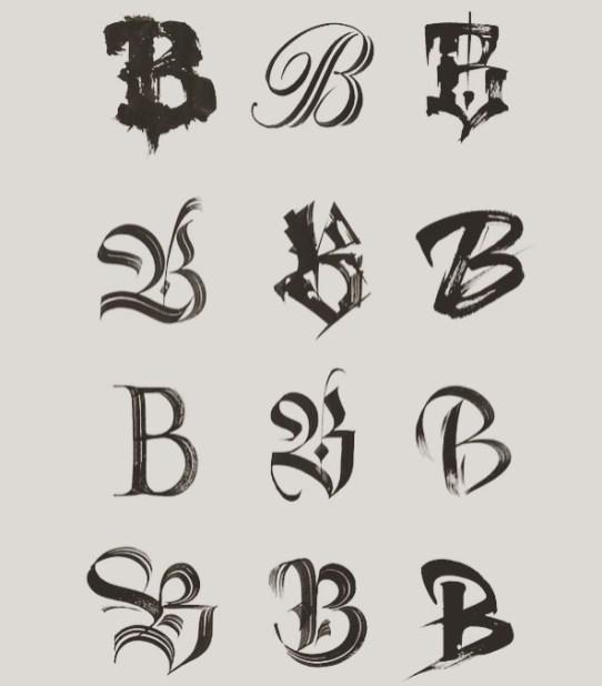 Некоторые свежие работы каллиграфа и диджея Люки Барселоны