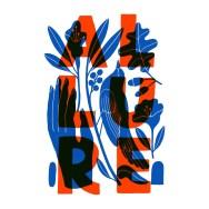 Super Nice Letters — леттеринг Карми Грау из Берлина