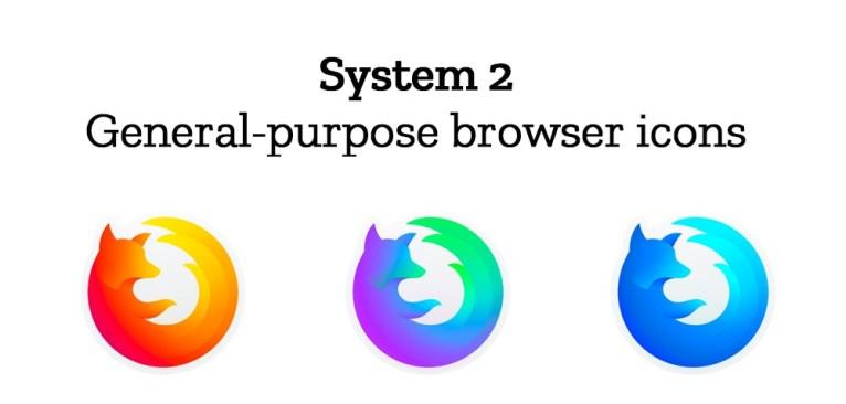 Firefox выбирает между двумя вариантами айдентики