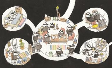 Книжные иллюстрации шведского иллюстратора Маттиаса Адольфсона (Mattias Adolfsson)