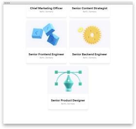 Сайт стартапа Pitch