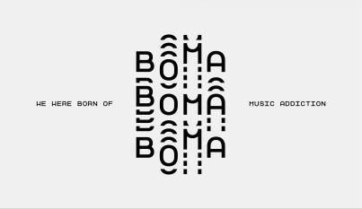 Айдентика музыкального лейбла BOMA