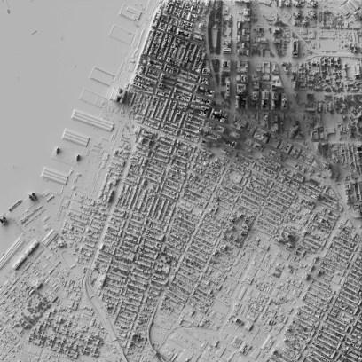 Трёхмерные карты бруклинского дизайнера Скотта Рейнхарда