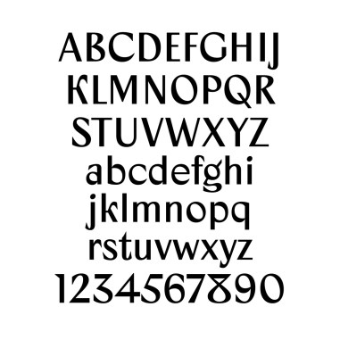 Шрифт Zangezi Sans v.0.5
