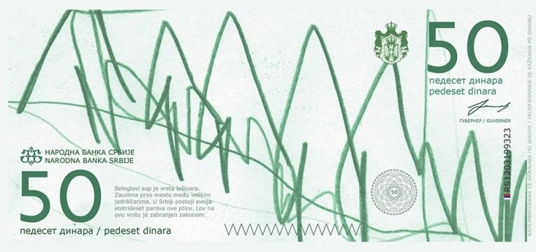 Концепт дизайна сербских динар