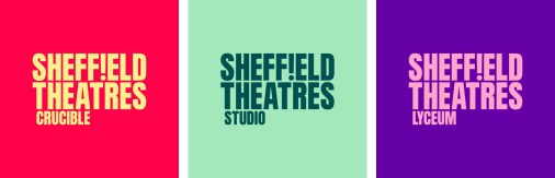 Новая айдентика Sheffield Theatres