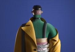 Трёхмерные персонажи независимого китайского дизайнера UV-Zhu