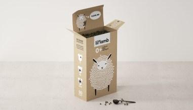 LIL'LAMB («маленькая овечка») — студенческий концепт упаковки универсального натурального моющего средства для детей