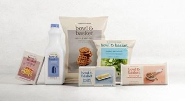 Bowl & Basket — элегантная айдентика и упаковка собственной линейки товаров американского ритейлера