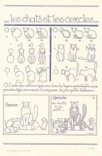 Les animaux tels qu'ils sont (Животные как они есть) — винтажная французская книга с поэтапными инструкциями по рисованию зверей, птиц, рыб и насекомых из простых форм и линий